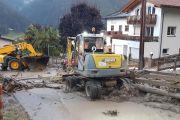 Schweres Unwetter im Arlberggebiet