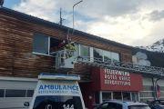 Rettung und Feuerwehr üben die Personenrettung